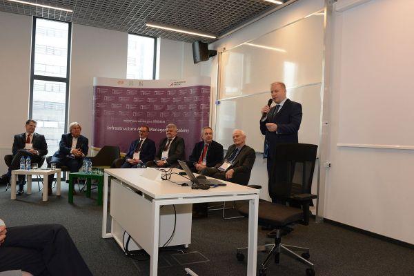 Krzysztof Kondraciuk na Inauguracji Akademii INFRAMA