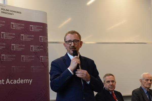 Profesor Andrzej Garbacz na Inauguracji Akademii INFRAMA