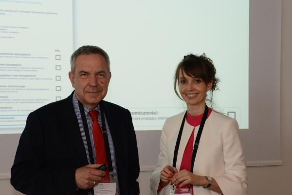 Dr Sławomir Heller i Dr Agata Ciołkosz-Styk