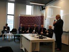 Zbigniew Kotlarek podczas wystąpienia (źródło własne)
