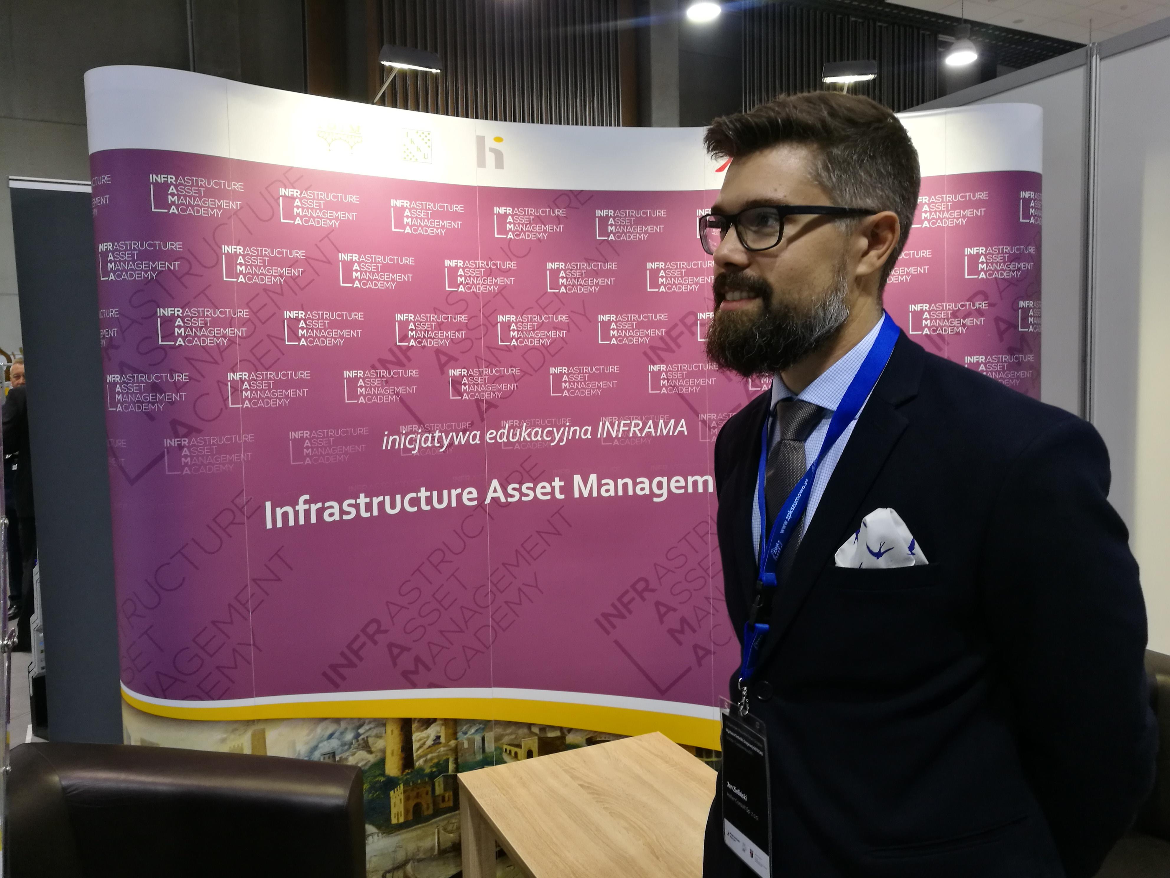 Jan Zieliński promuje inicjatywę INFRAMA